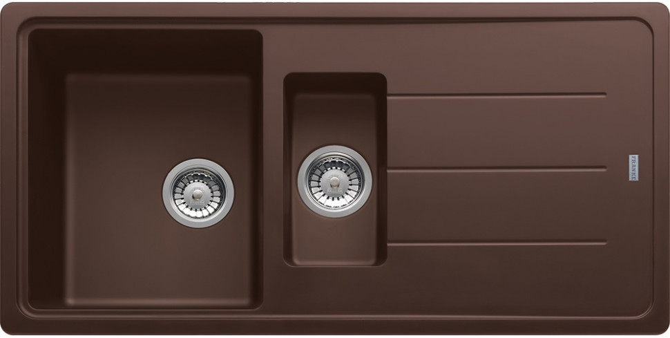 Кухонная мойка Franke Basis BFG 651 шоколад 114.0259.945