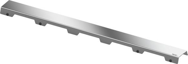 Декоративная панель 643 мм Tece TECEdrainline steel II глянцевый хром 600782 фото