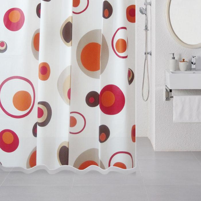цена на Штора для ванной комнаты Milardo Lovely Phantom 503V180M11