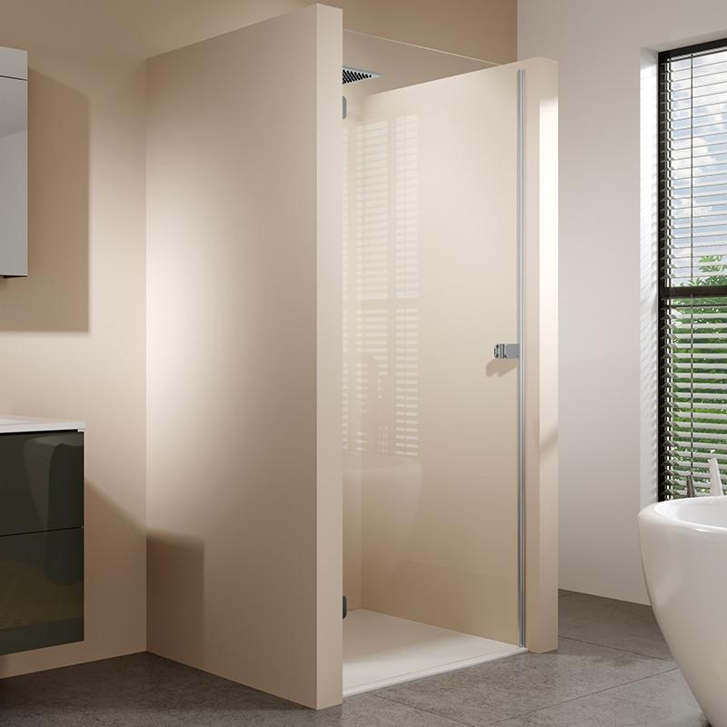 Душевая дверь 882 см Riho Scandic Soft Q101 L GQ0001201 прозрачное.