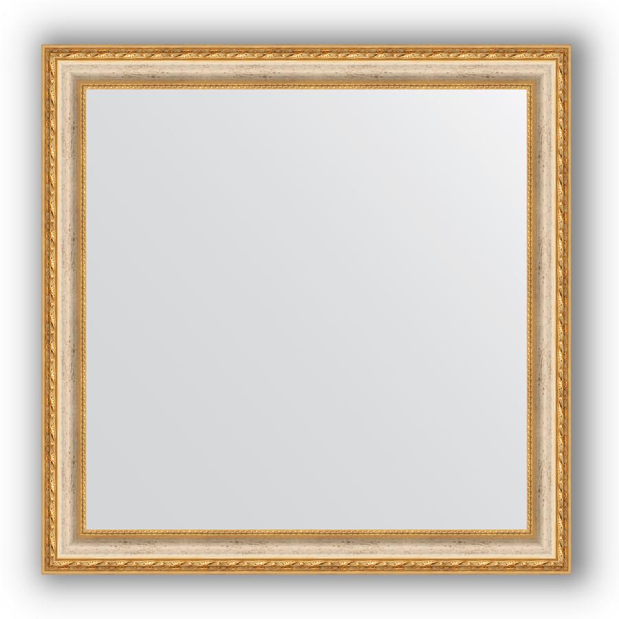 Фото - Зеркало 75х75 см версаль кракелюр Evoform Definite BY 3237 зеркало evoform definite 95х75 версаль кракелюр