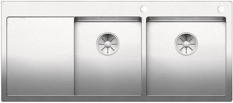 Кухонная мойка Blanco Claron 8 S-IF InFino нержавеющая сталь 521651