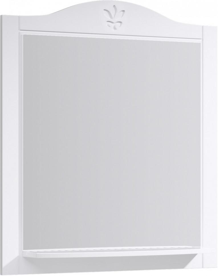 Зеркало 85х93 см белый глянец Aqwella Franchesca FR0208 недорого