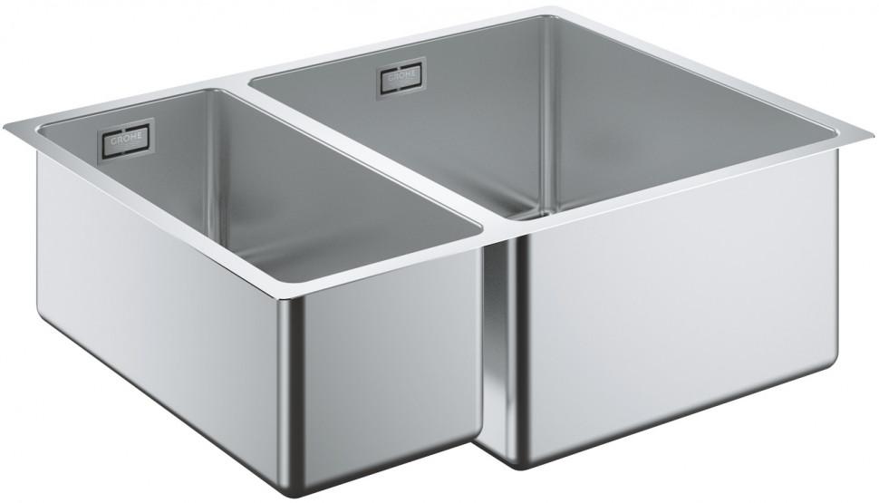Кухонная мойка Grohe K700U нержавеющая сталь 31576SD0 мойка кухонная grohe k700u 31577sd0