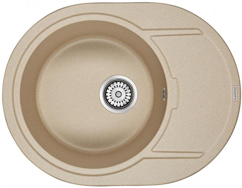 Кухонная мойка Paulmark Oval кварц PM316502-QU