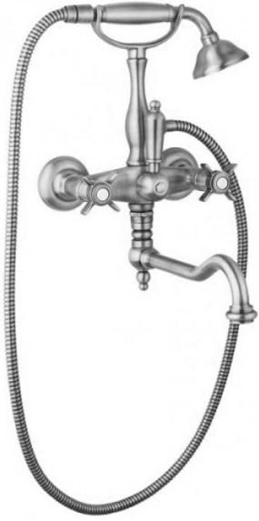 Смеситель для ванны с поворотным изливом хром Cezares Lord LORD-VDF-01 цена и фото
