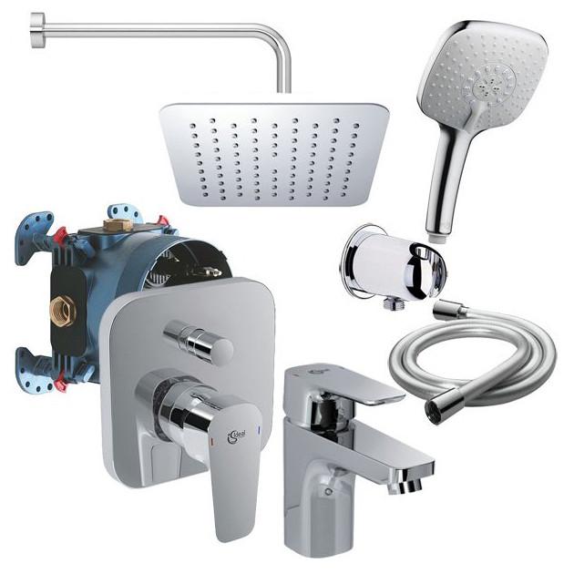 Промо набор для ванны Ideal Standard Set Ceraplan III 8 в 1 B1153AA