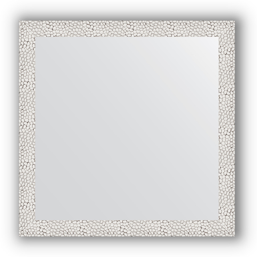 Зеркало 61х61 см чеканка белая Evoform Definite BY 3130