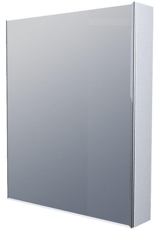 Зеркальный шкаф 60х80 см белый глянец 1Marka Соната У29560 недорого