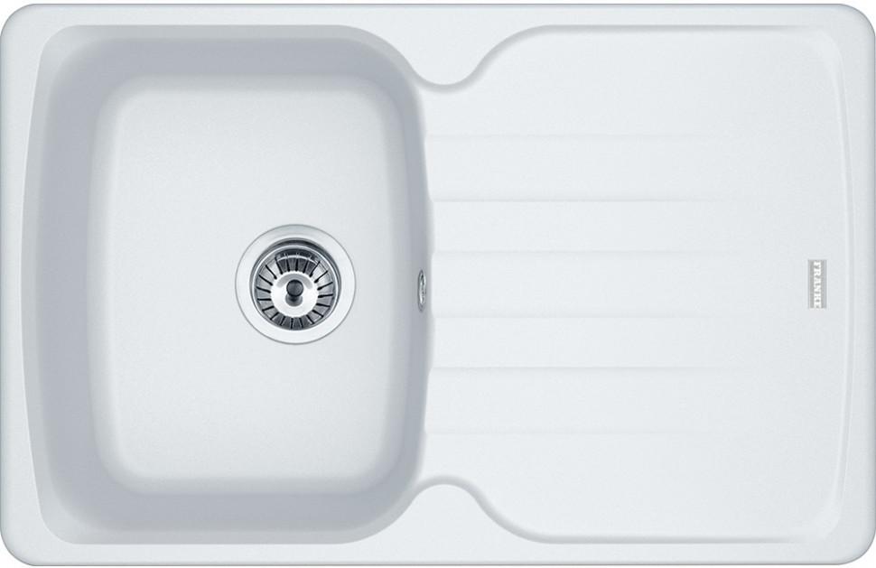 Кухонная мойка Franke Antea AZG 611-78 белый 114.0537.768 кухонная мойка franke antea azg 620 бежевая 114 0489 301