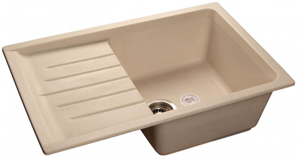 все цены на Кухонная мойка белый GranFest Practic GF-P760L онлайн