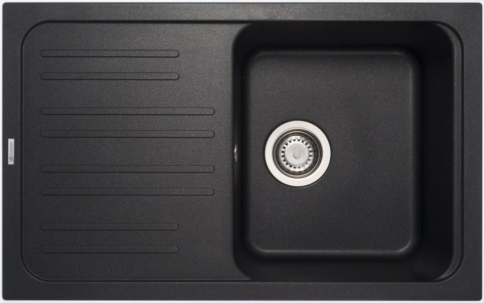 Кухонная мойка оникс Longran Classic CLS740.460 - 10 мойка longran ultra uls615 500 15 10 оникс
