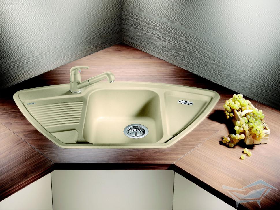 Кухонная мойка Blanco Classic 9E Жасмин 521341 кухонная мойка blanco classic 9e silgranit puradur кофе