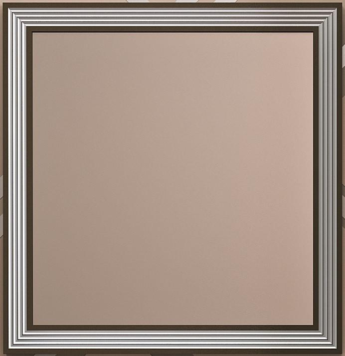Зеркало 100х86,6 см серебряная патина Opadiris Карат Z0000006702 тумба с раковиной белый серебряная патина 80 см opadiris карат karat80tag
