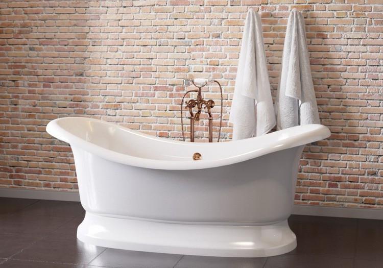 Ванна из литого мрамора 189х87 см Astra-Form Мальборо 010110