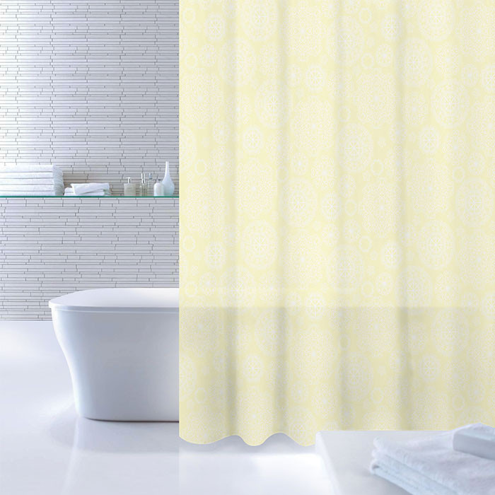 цена на Штора для ванной комнаты IDDIS Flower Bloom 520P18RI11