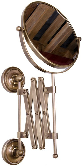 Косметическое зеркало бронза Tiffany World Bristol TWBR024br