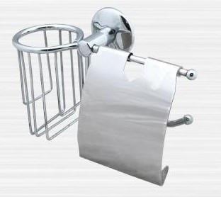 Держатель туалетной бумаги и освежителя воздуха Rainbowl Otel 2530-1 держатель туалетной бумаги rainbowl long с освежителем 2230 2