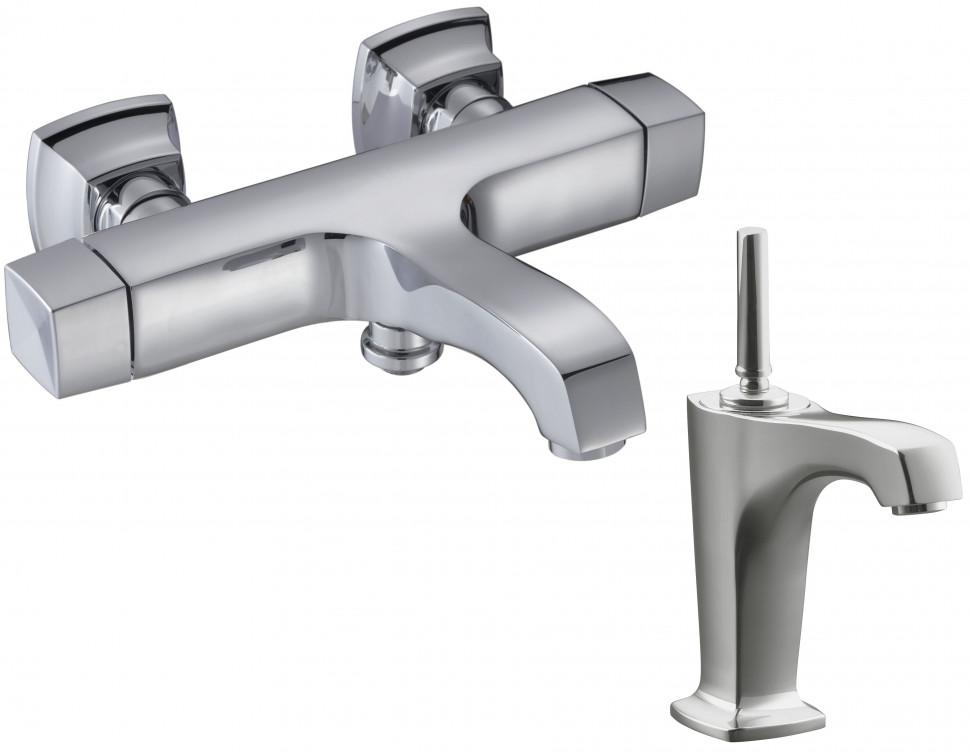 Комплект смесителей Jacob Delafon Margaux E16219-9-CP + E16230-4-CP