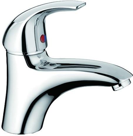 Смеситель для раковины без донного клапана Orange Archi M55-021cr смеситель для ванны orange archi m55 211cr