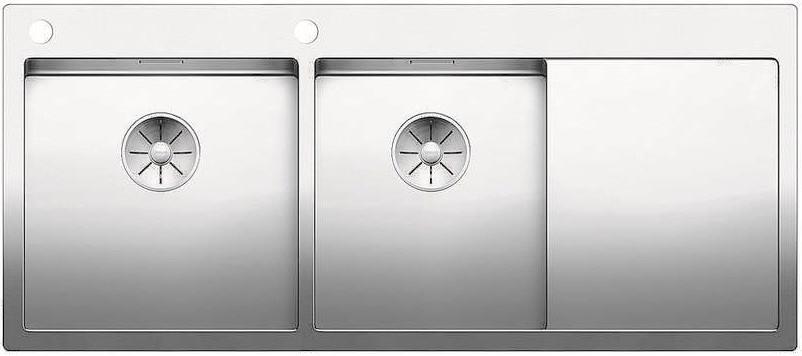 Кухонная мойка Blanco Claron 8 S-IF InFino нержавеющая сталь 521652 мойка lexa 8 s alumetallic 514701 blanco