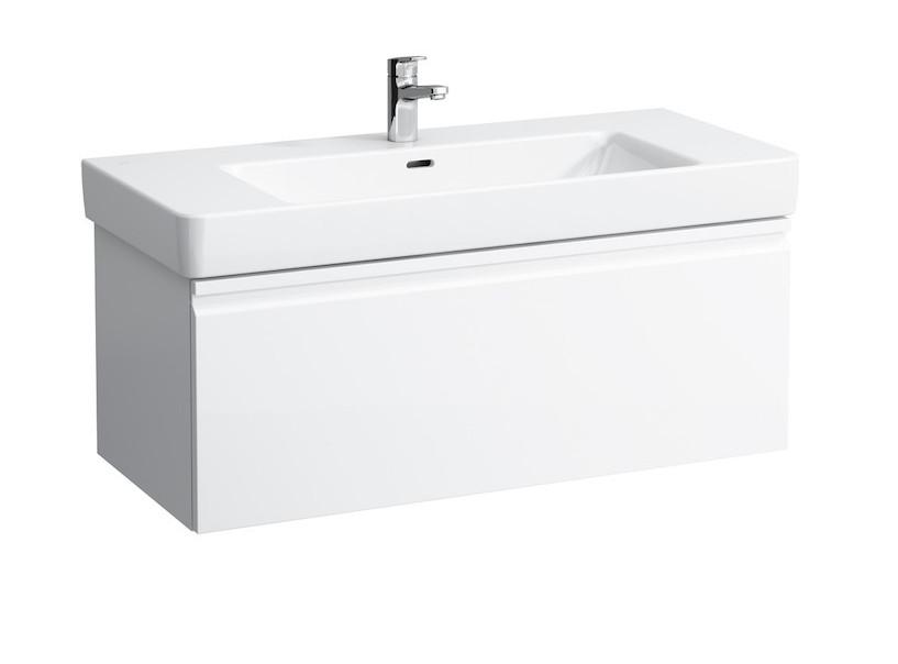 цены на Тумба белый матовый 101 см Laufen Pro S 4835520964631 в интернет-магазинах