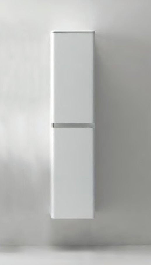 Пенал подвесной левый белый глянец BelBagno Energia-N ENERGIA-N-1700-2A-SC-BL-L шкаф пенал belbagno dublin dublin 1700 2a sc bl