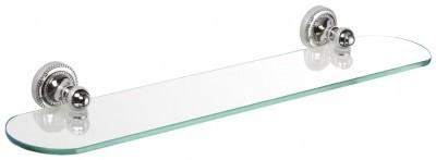 Полка стеклянная 52 см Fixsen Style FX-41103 aquasanita 2561 бежевый