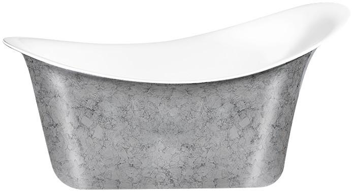 Акриловая ванна 175х82,5 см Lagard Tiffany Treasure Silver lgd-tf-ts