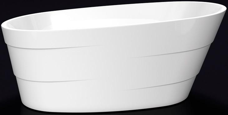 Акриловая ванна 170х75 см Lagard Auguste White Star lgd-agst-ws светильник на штанге arlight lgd 2282 lgd 2282bk 45w 4tr white 24deg