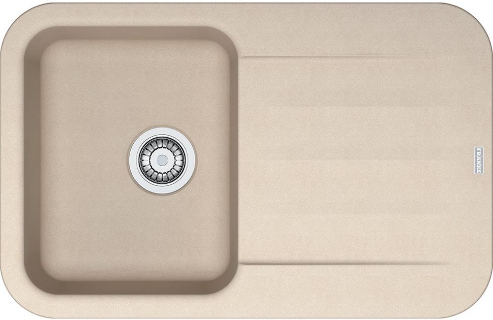 Кухонная мойка Franke Pebel PBG 611-78 бежевый 114.0284.534 franke galileo бежевый