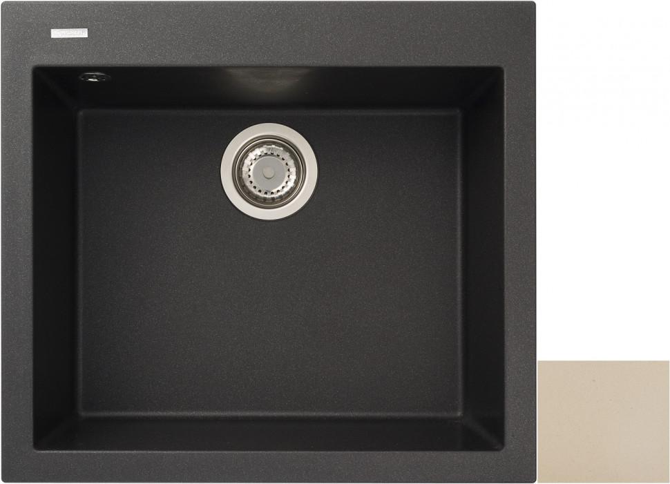 Кухонная мойка колорадо Longran Cube CUG560.500 - 08 цена
