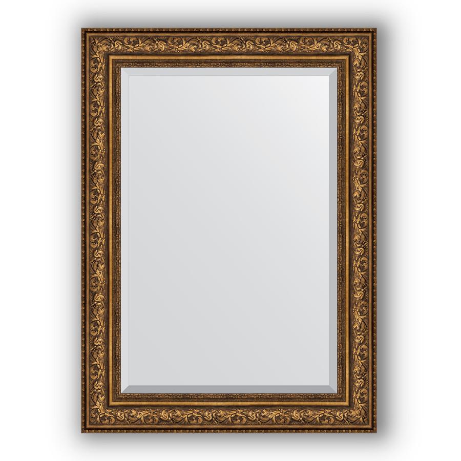 Зеркало 80х110 см виньетка состаренная бронза Evoform Exclusive BY 3479
