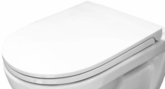 Сиденье для унитаза с микролифтом Sanita Luxe Best 4630011020467