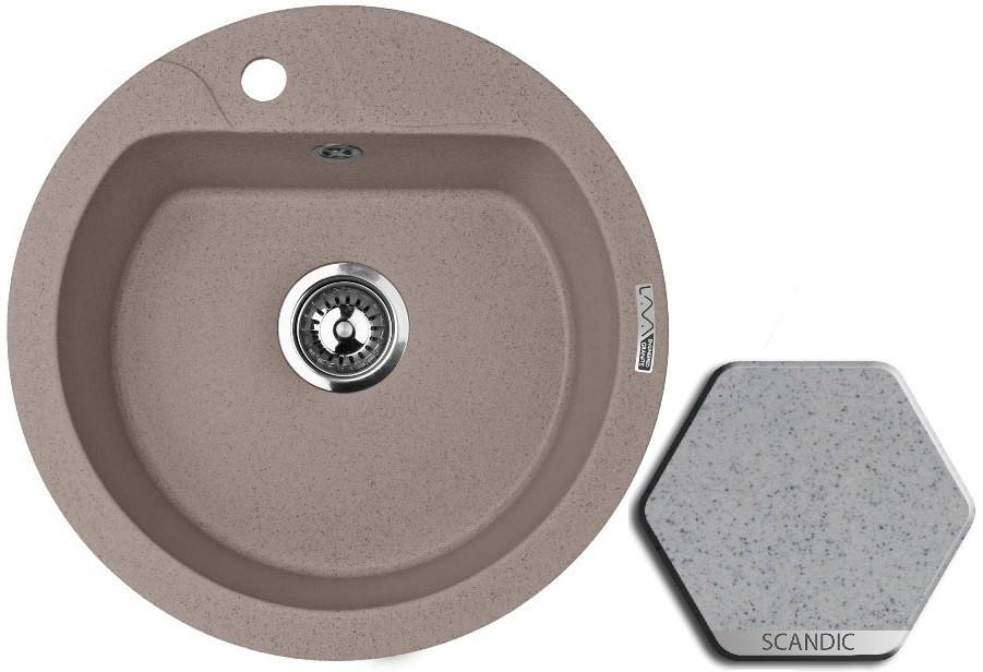 Кухонная мойка SCANDIC Lava R3.SCA цена и фото