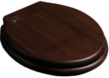 Сиденье для унитаза с микролифтом орех/хром Simas Londra LO008noce/cr
