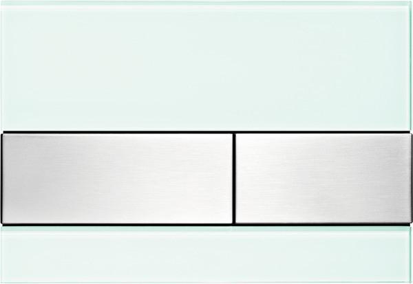 Смывная клавиша Tece TECEsquare мятный зеленый/нержавеющая сталь с покрытием против отпечатков пальцев 9240804 смывная клавиша tece tecesquare нержавеющая сталь с покрытием против отпечатков пальцев 9240830
