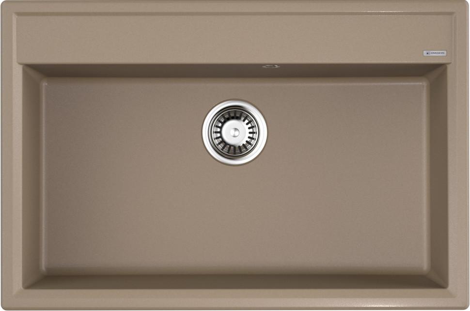 Кухонная мойка карамель Artgranit Omoikiri Daisen 77-CA цены онлайн