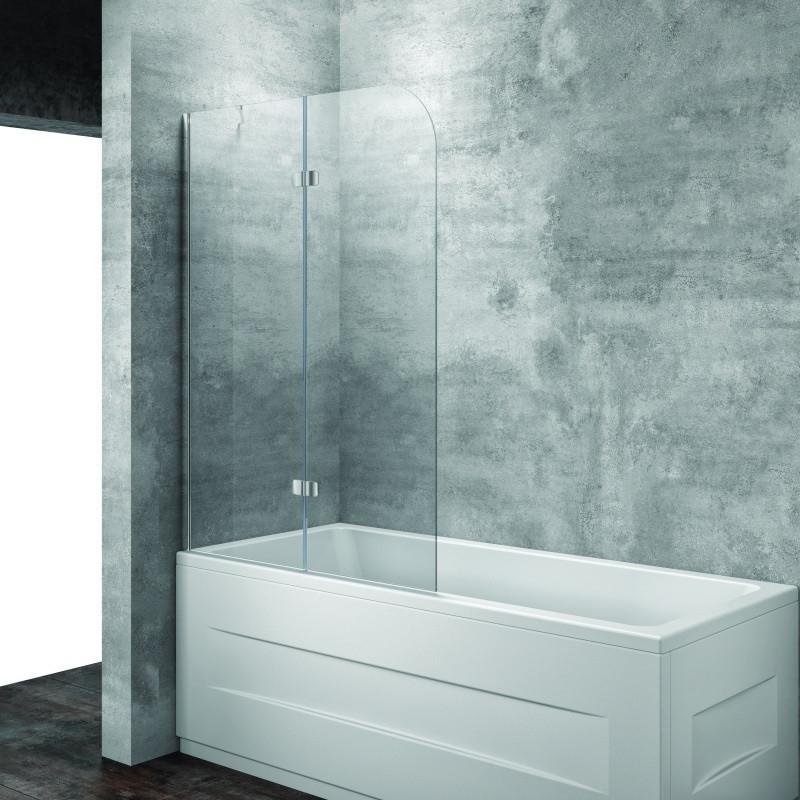 Шторка для ванны 112 см L Kolpa San Terra TS прозрачное