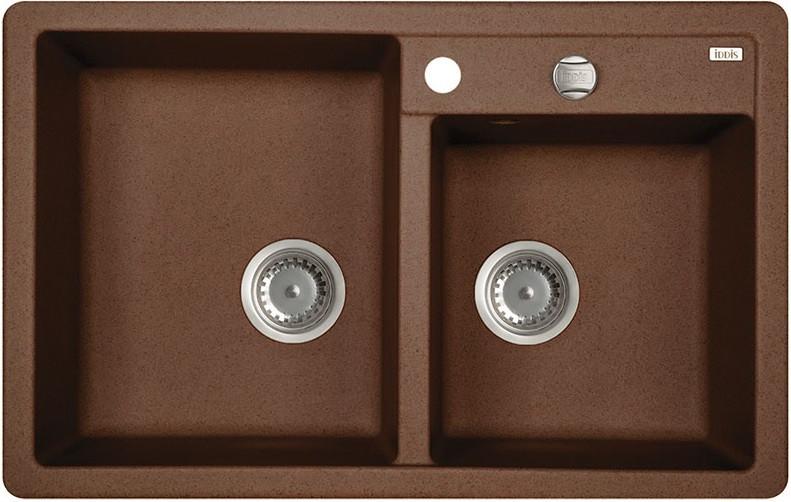 Кухонная мойка шоколад IDDIS Vane G V35C782I87 кухонная мойка iddis vane g 500x780 шоколад v35c782i87