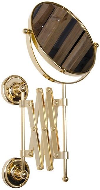 Косметическое зеркало золото Tiffany World Bristol TWBR024oro косметическое зеркало золото tiffany world bristol twbr024oro