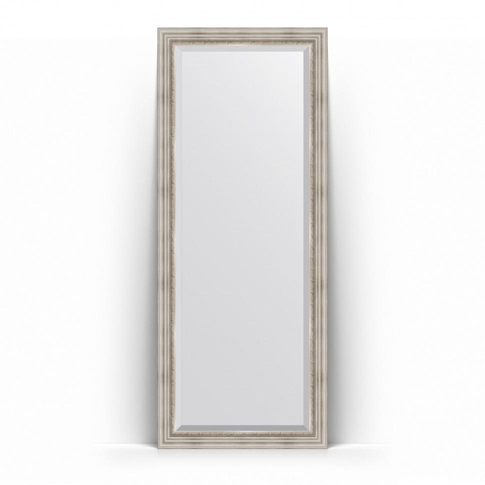 Фото - Зеркало напольное 81х201 см римское серебро Evoform Exclusive Floor BY 6118 зеркало напольное 81х201 см чеканка золотая evoform definite floor by 6008