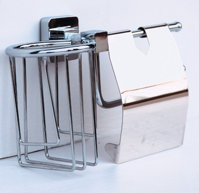 Держатель туалетной бумаги и освежителя воздуха Rainbowl Cube 2730-1