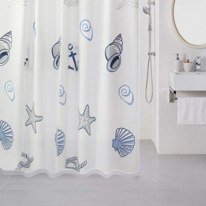 цена на Штора для ванной комнаты Milardo Sea Fantasy 508V180M11