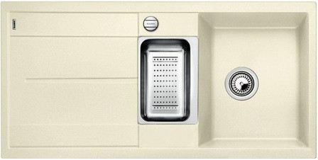 Фото - Кухонная мойка Blanco Metra 6 S-F жасмин 519116 кухонная мойка blanco metra 6 s f кофе 519120