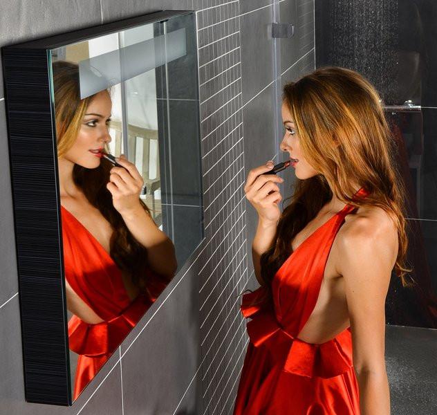 Зеркало с подсветкой Strip Onyx 70х55 см Ravak Classic 700 X000000249 цена 2017