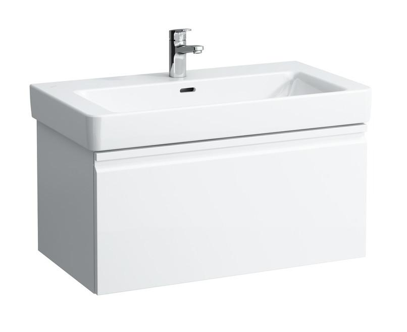 цены на Тумба белый матовый 80,9 см Laufen Pro S 4835020964631 в интернет-магазинах