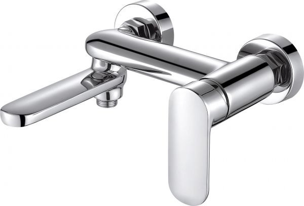 Фото - Смеситель для ванны Bravat Opal F6125183CP-01-RUS смеситель для ванны bravat art короткий излив бронза f675109u b1 rus