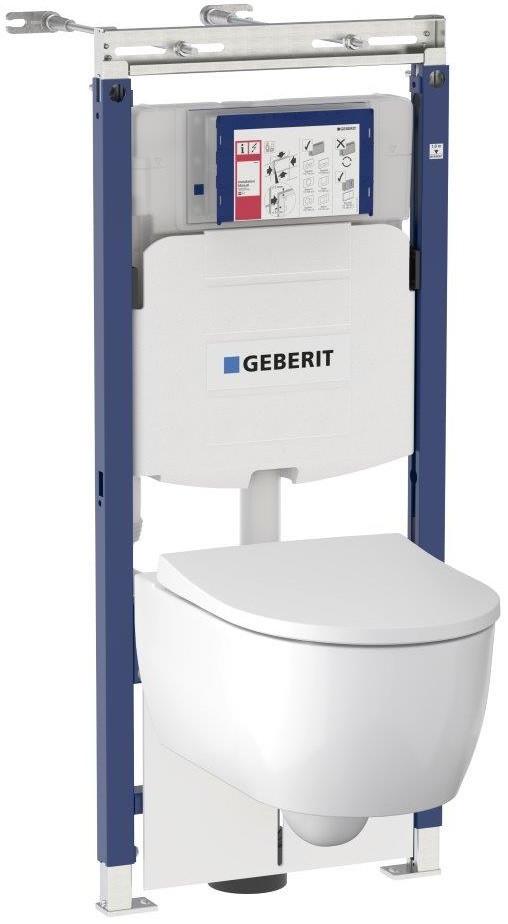 Комплект подвесной унитаз + система инсталляции Geberit Icon 111.362.00.5 фото