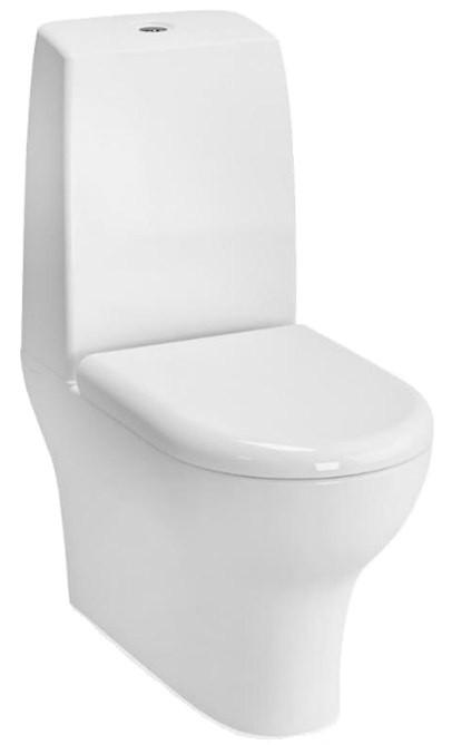 цена на Унитаз-моноблок с сиденьем микролифт и с механизмом смыва Geberit Vitra Zentrum 9012B003-7200